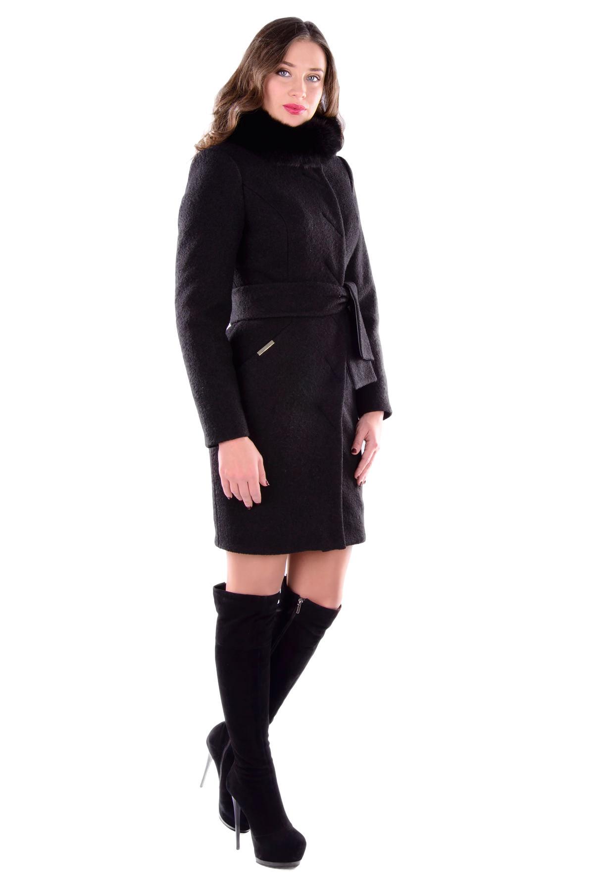 Купить кашемировое пальто оптом от производителя Пальто Луара 4486