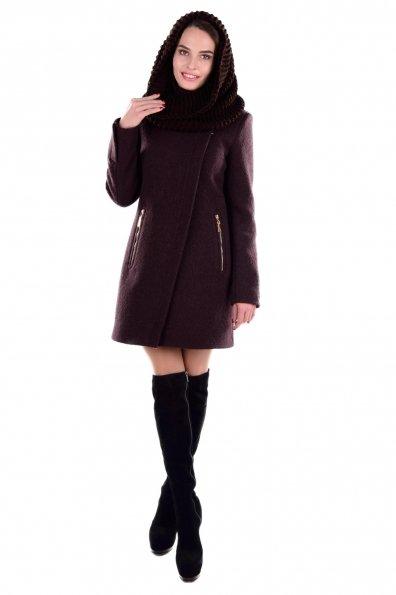"""Купить Пальто """"Эльпассо шерсть зима хомут"""" оптом и в розницу"""