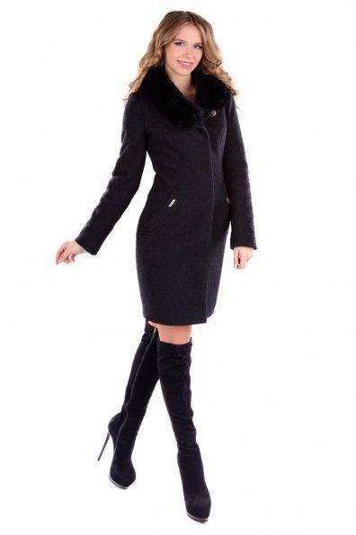 """Купить Пальто """"Хейли шерсть зима песец"""" оптом и в розницу"""