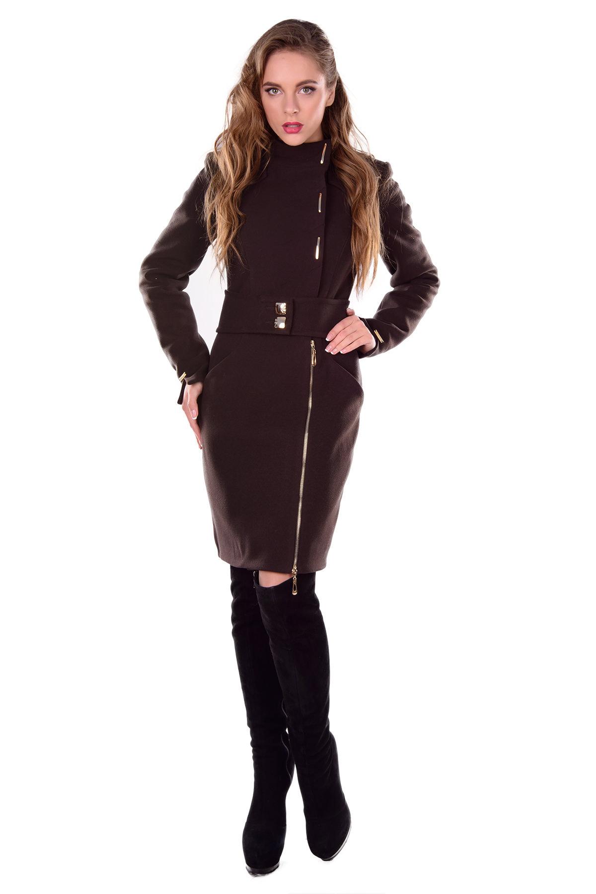 Купить кашемировое пальто оптом от производителя Пальто Монте-Негро турция элит зима хомут