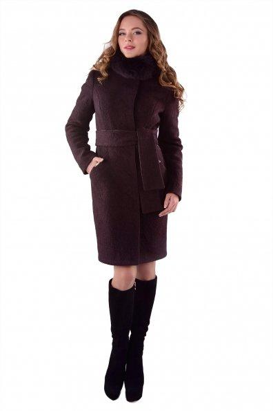 """Купить Пальто """"Луара лайт шерсть зима песец"""" оптом и в розницу"""