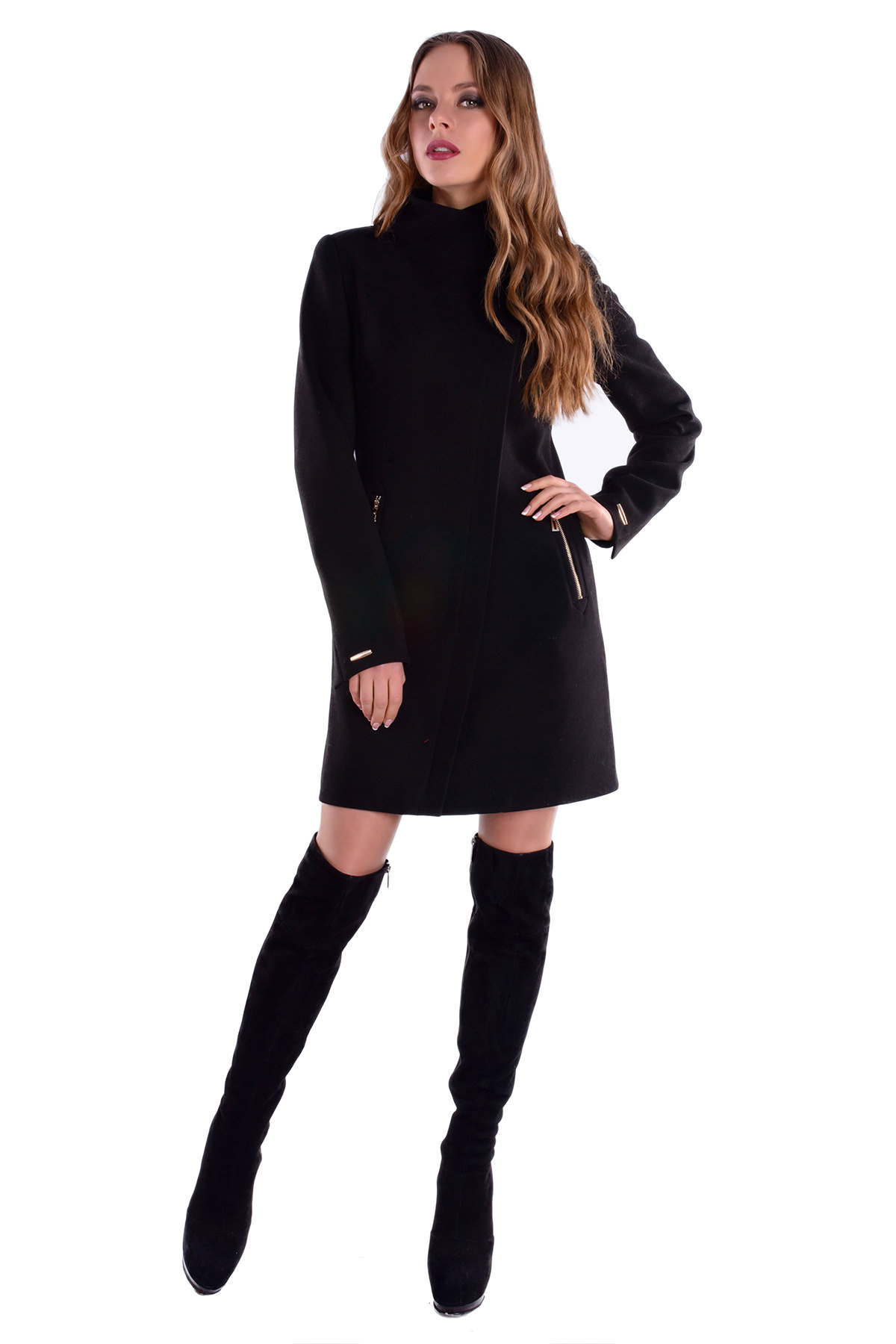 Модус женская одежда оптом недорого Пальто Эльпассо 4757