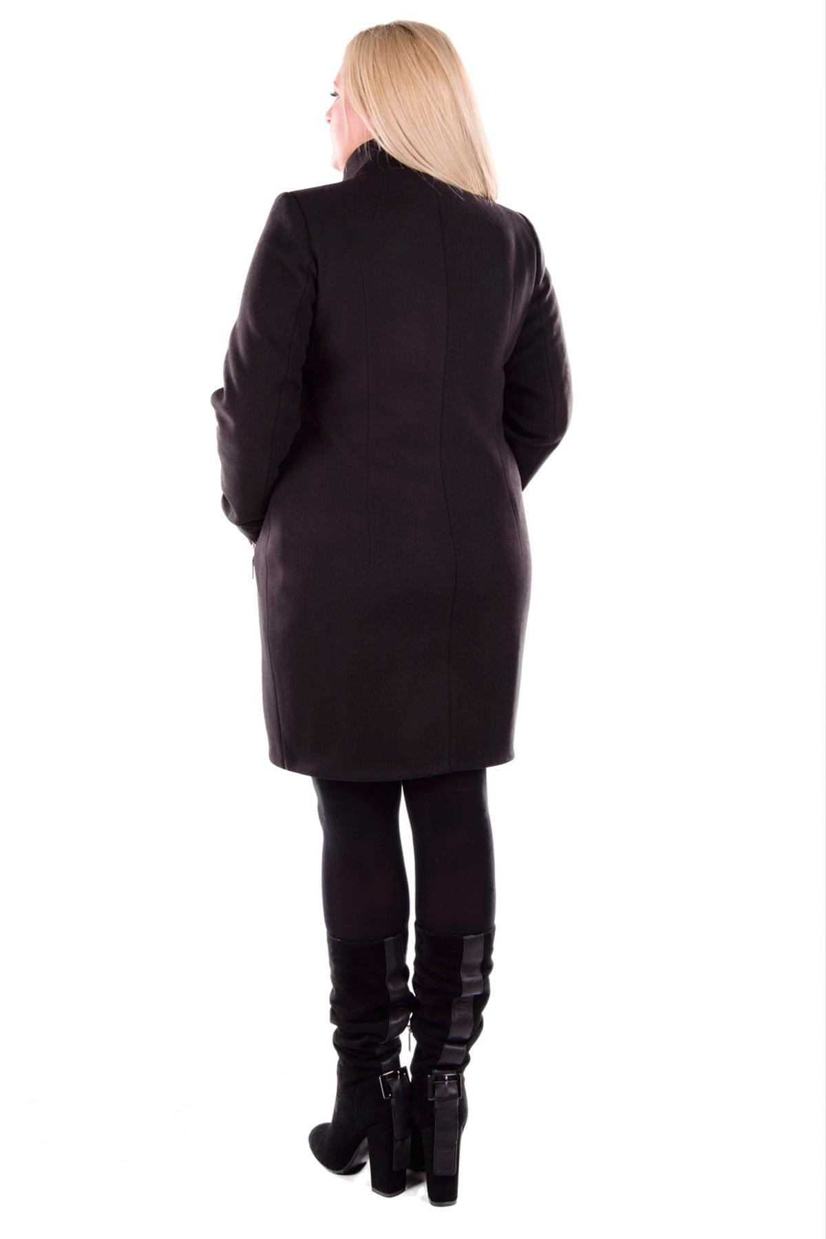 Пальто Donna зима Эльпассо 4516 Цвет: Черный