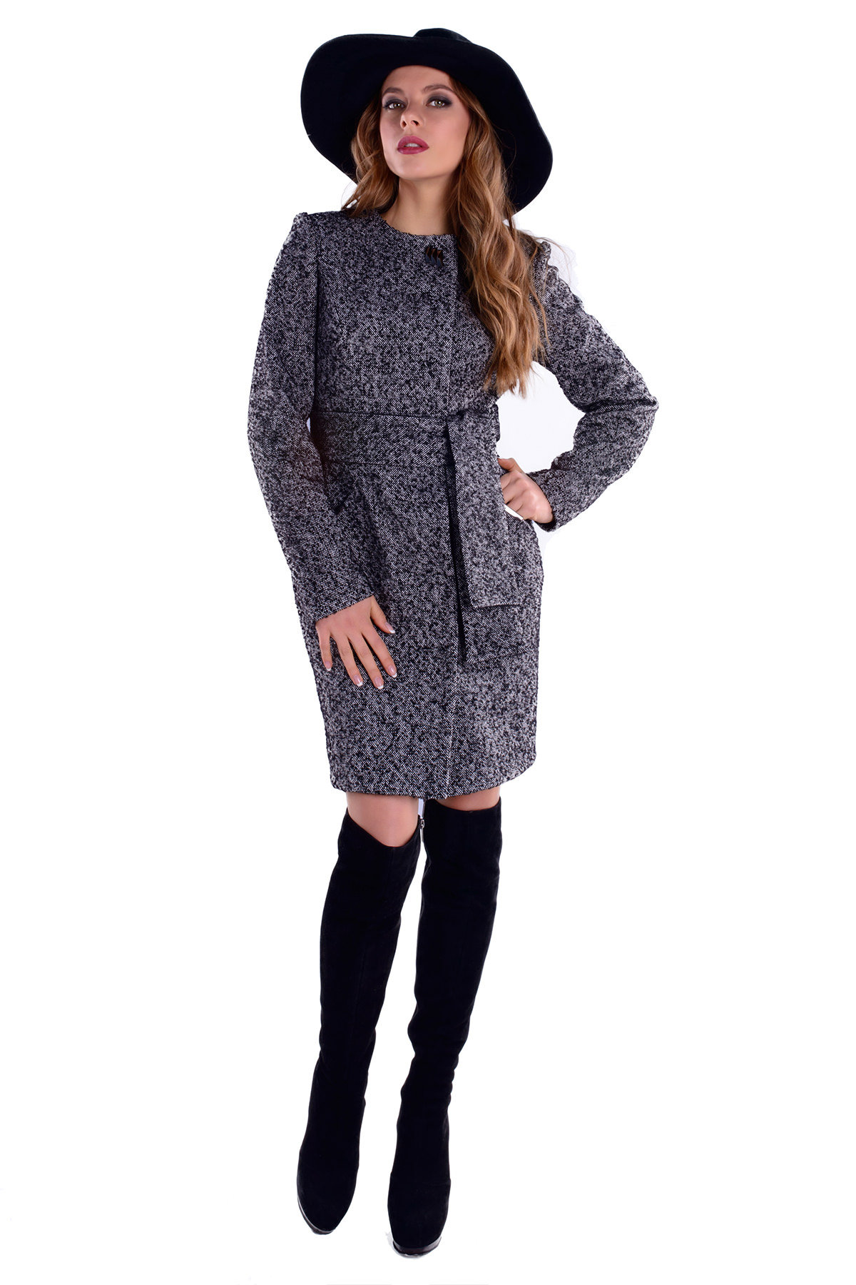 Купить весеннее пальто оптом от производителя Пальто Луара 4773