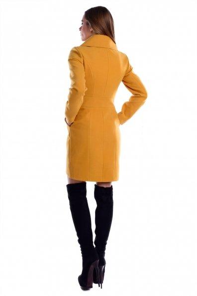 Пальто Кураж 3093 Цвет: Горчица H 25