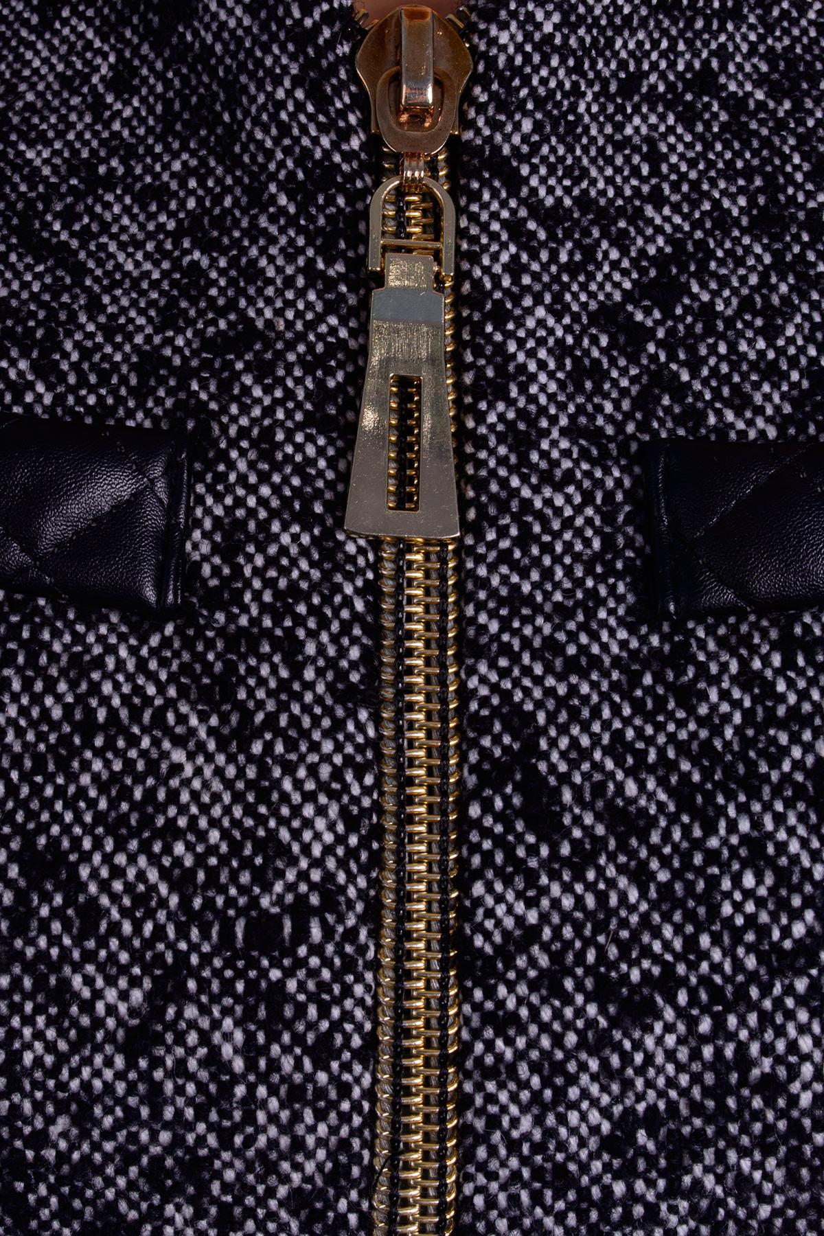 Пальто Инди шерсть АРТ. 5393 Цвет: Серый 1 меланж - фото 4, интернет магазин tm-modus.ru