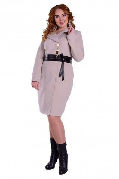 Пальто Магия Donna Цвет: Бежевый UHS-42