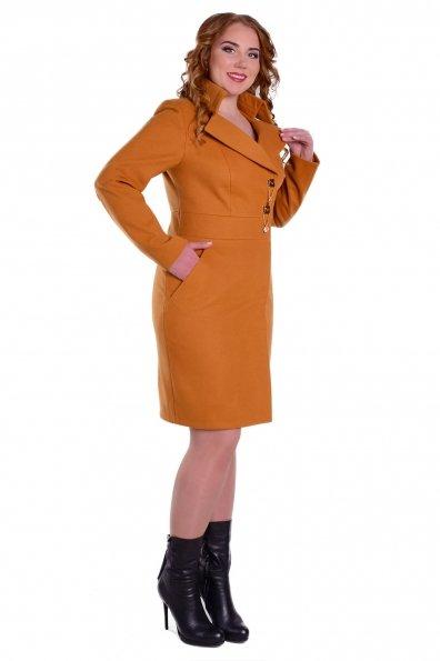 Пальто Магия Donna Цвет: Горчица Н 60