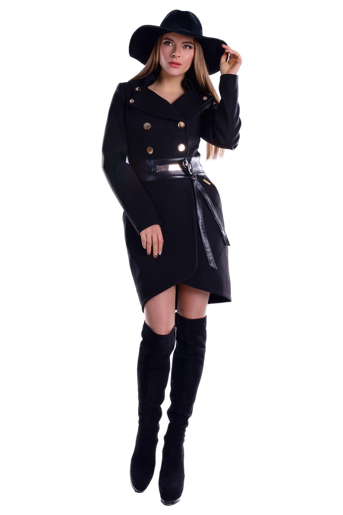 Купить кашемировое пальто оптом от производителя Пальто Кураж 3093