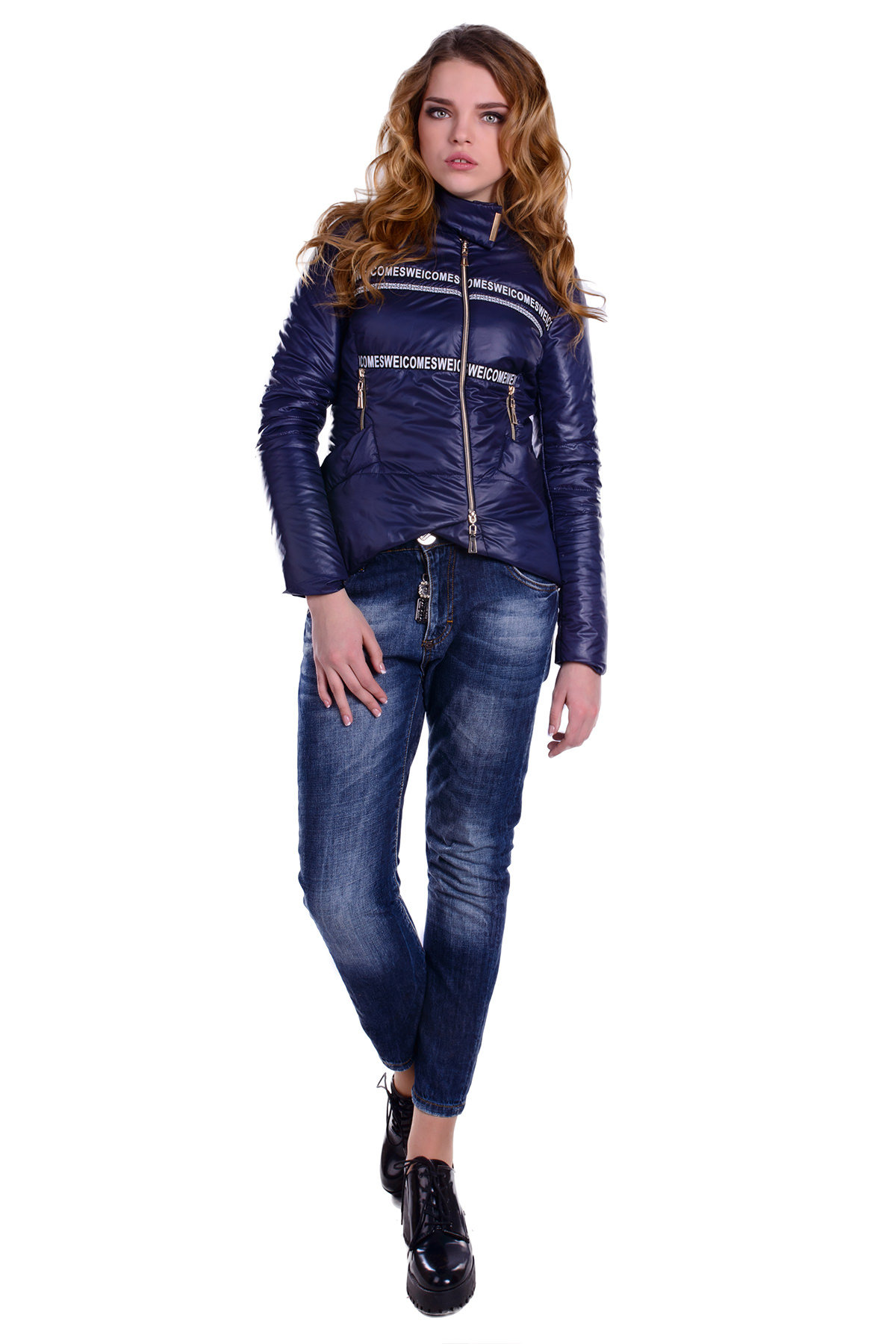 Купить пальто в Украине оптом Куртка  Романья лайт  4917