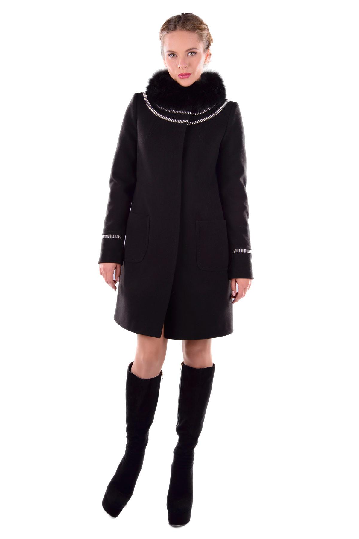 Женское пальто оптом от производителя Modus Пальто Ницца турция элит зима песец