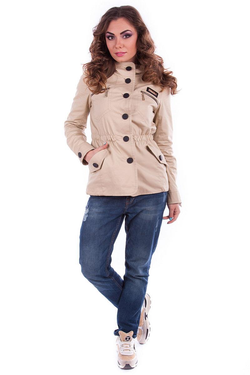 Купить женские плащи оптом от производителя Парка Турина коттон (65) 3556