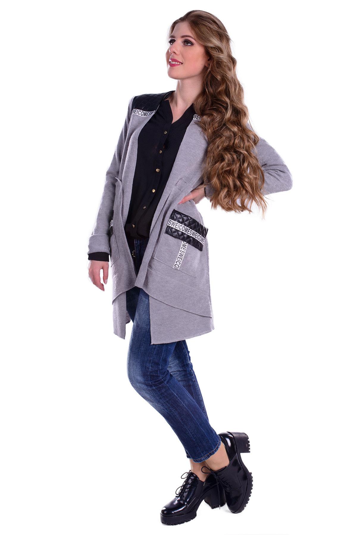 Купить пальто в Украине оптом Кардиган Нарни 4957