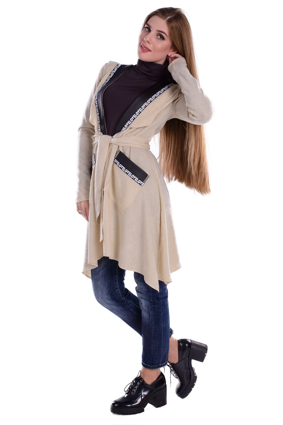 Купить женскую одежду оптом Кардиган Асти 4992