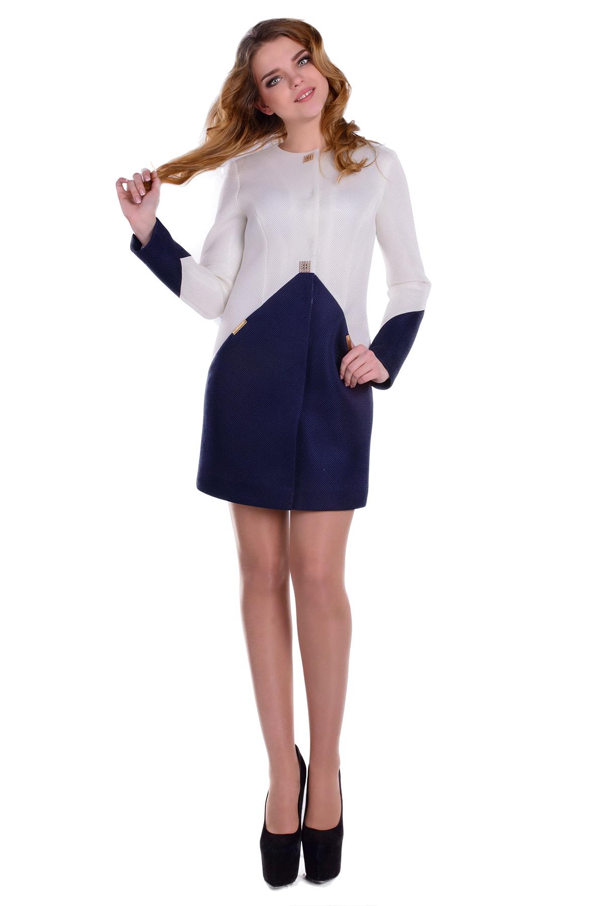 Купить весеннее пальто оптом от производителя Плащ Флекси 4908