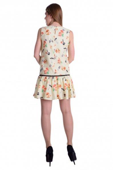 Платье Фелиция 5058 Цвет: Лимон грибы