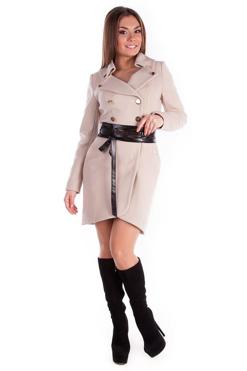 Купить пальто оптом Украина Пальто Кураж 4709