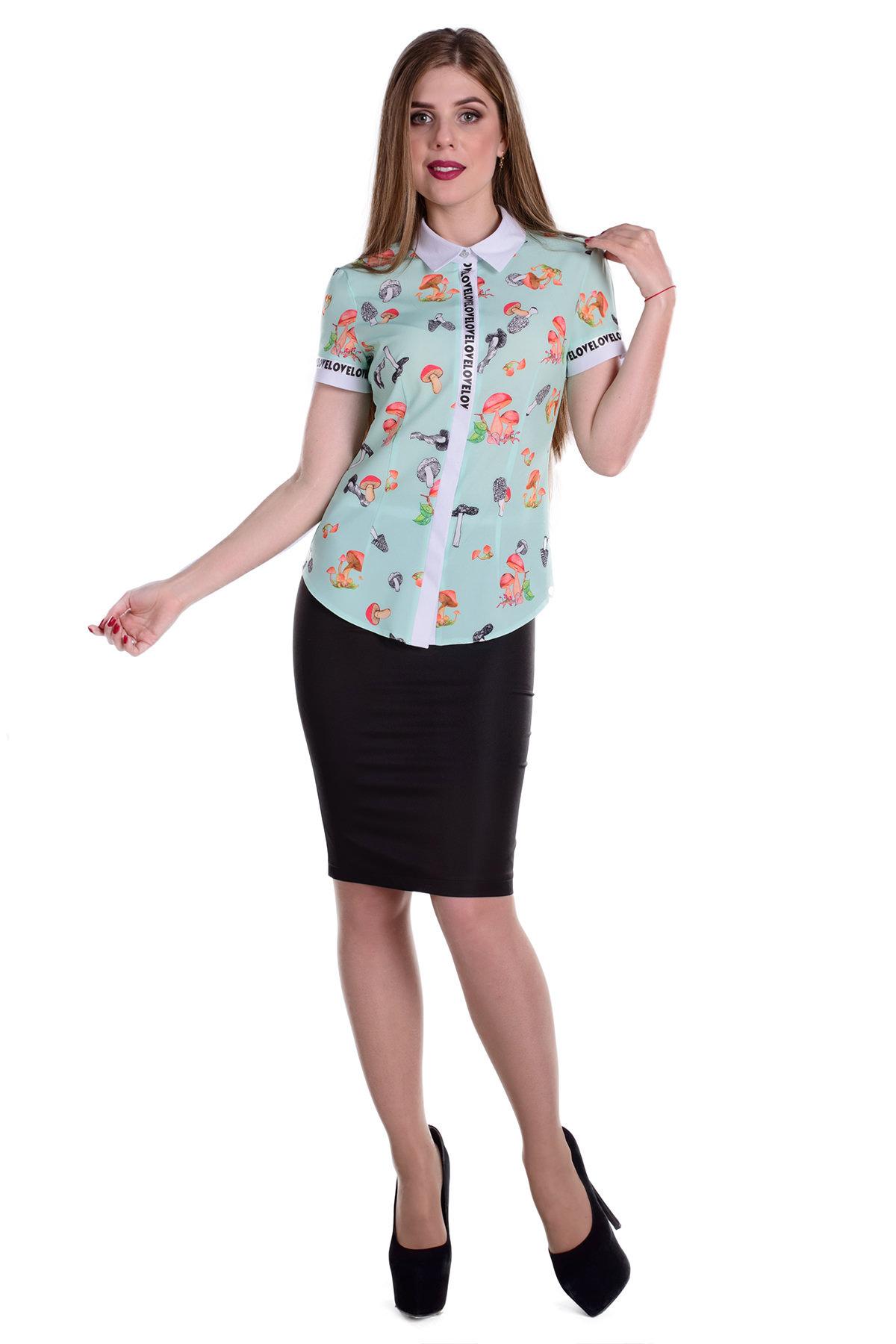 Блузы купить Украина Блуза Даллас к/р 46