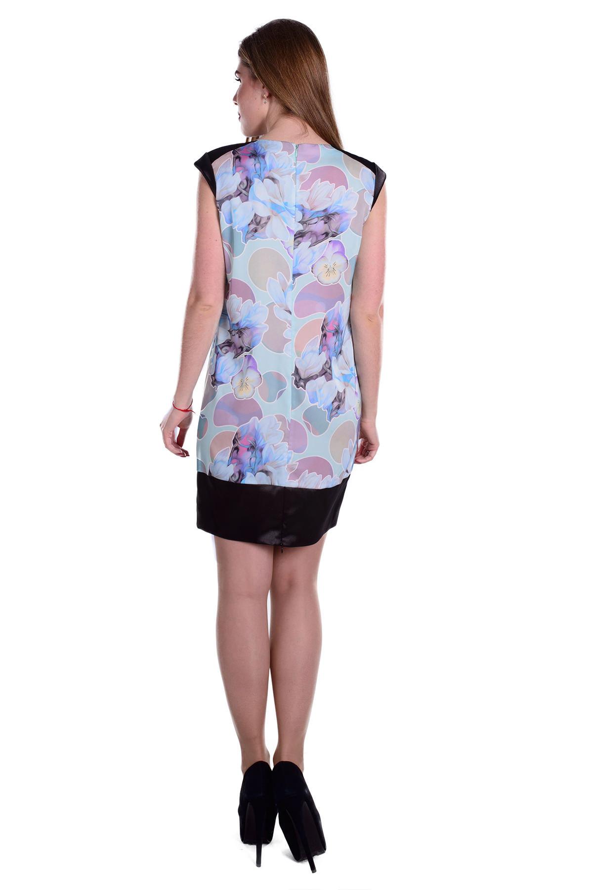 Платье Вилмар 58 Цвет: Мята/Лилия кр.