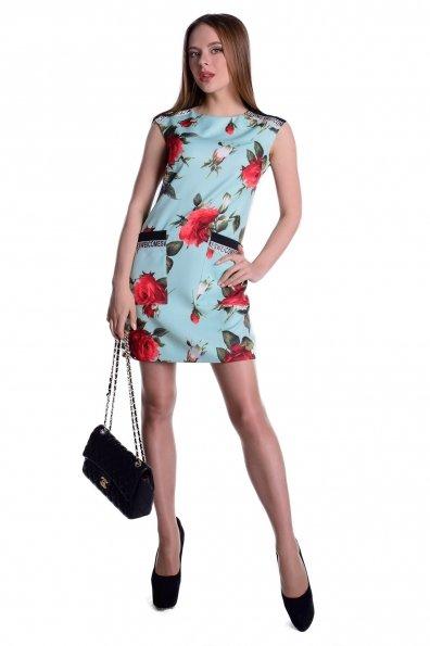 """Купить Платье """"Виларго принт костюмная ткань"""" оптом и в розницу"""