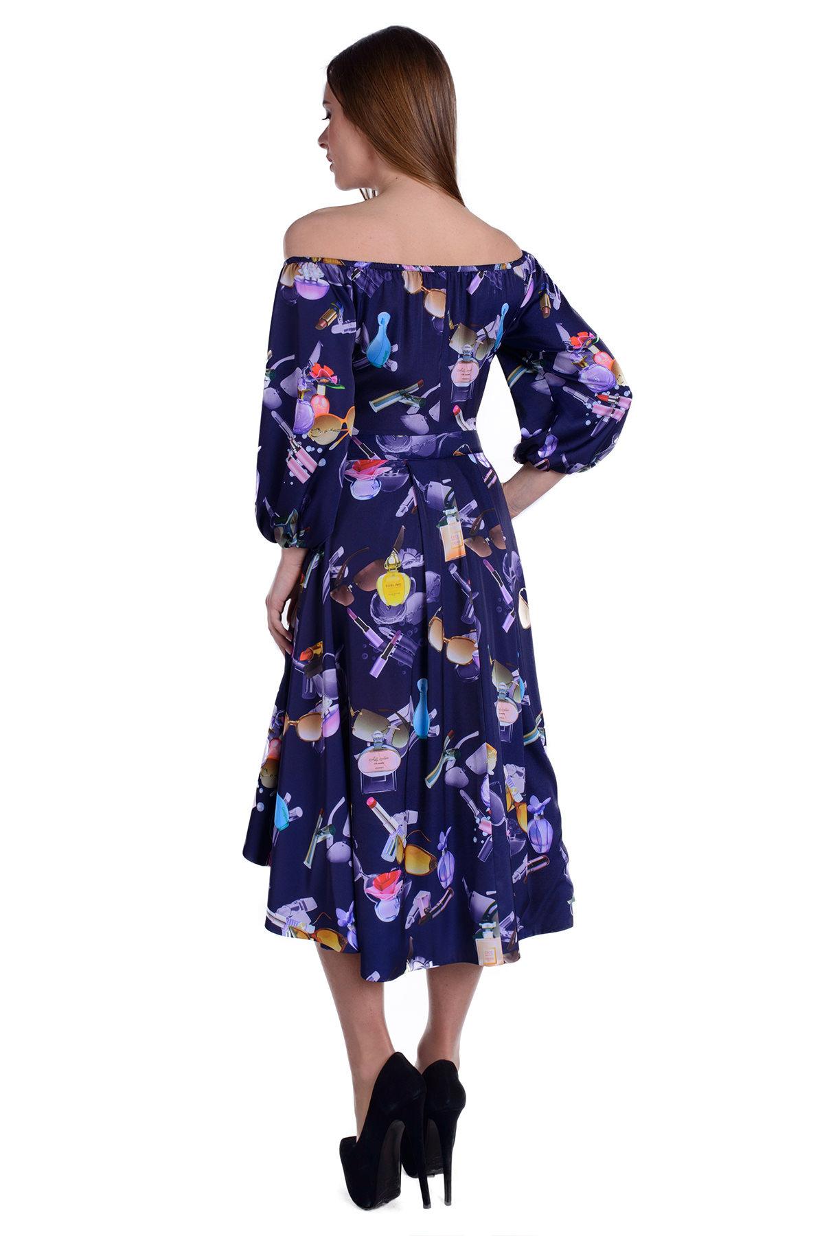Платье Мэрлин 19 Цвет: Тёмно-синий Parfums