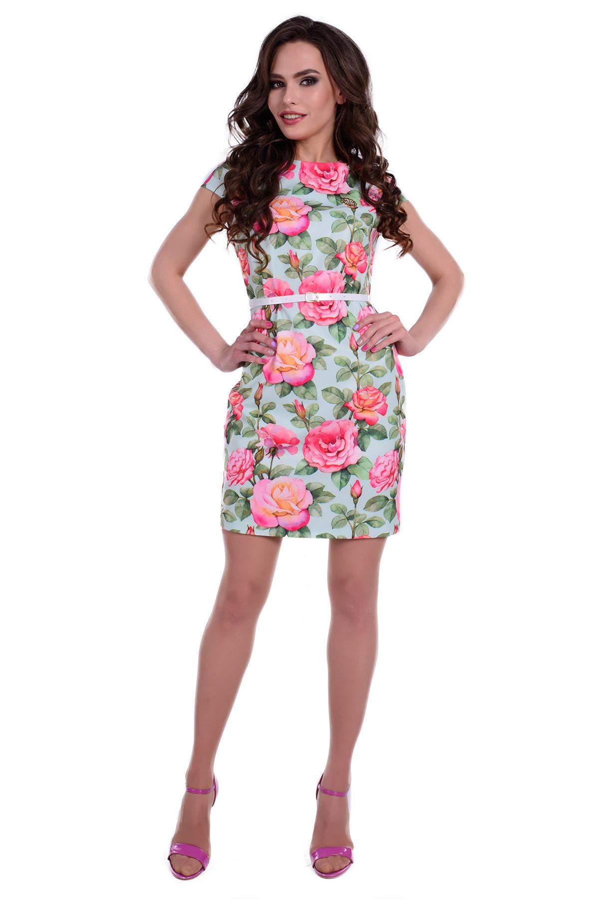 Весенние платья оптом Платье Пиония лайт 94