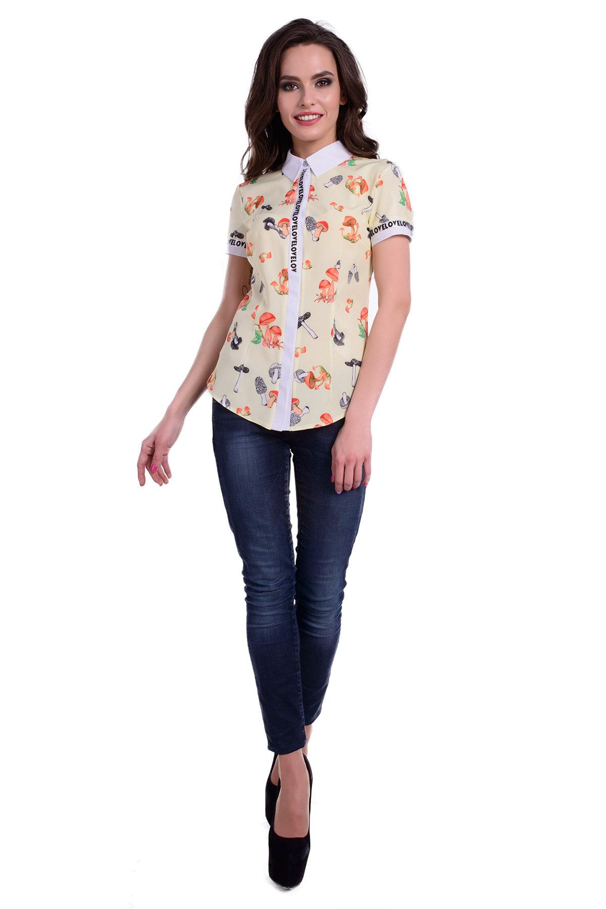 Школьные блузы оптом от производителя Блуза Даллас к/р 46