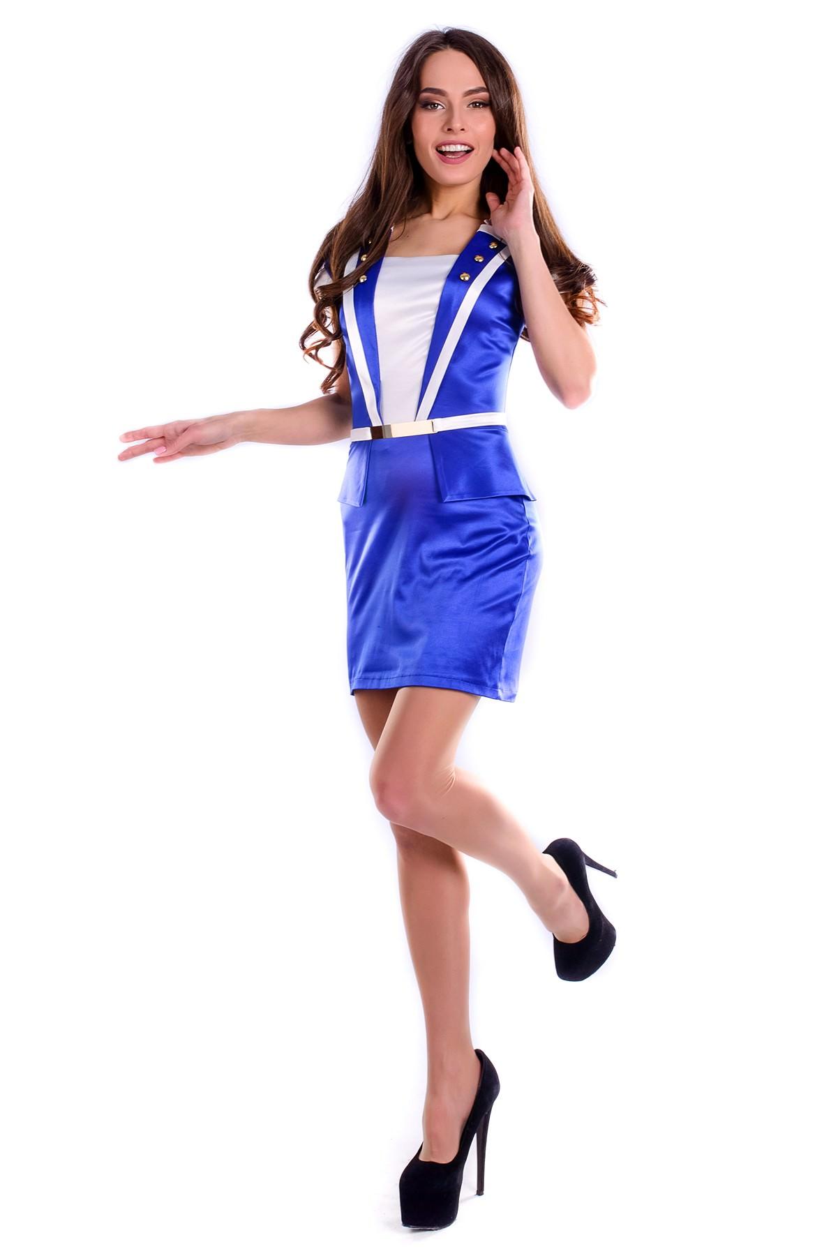 Платья трикотажные оптом от производителя Платье Арика