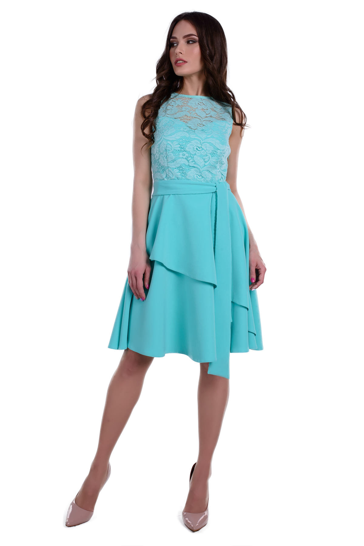 Оптом платья трикотаж Платье Сантина костюмка креп стрейч