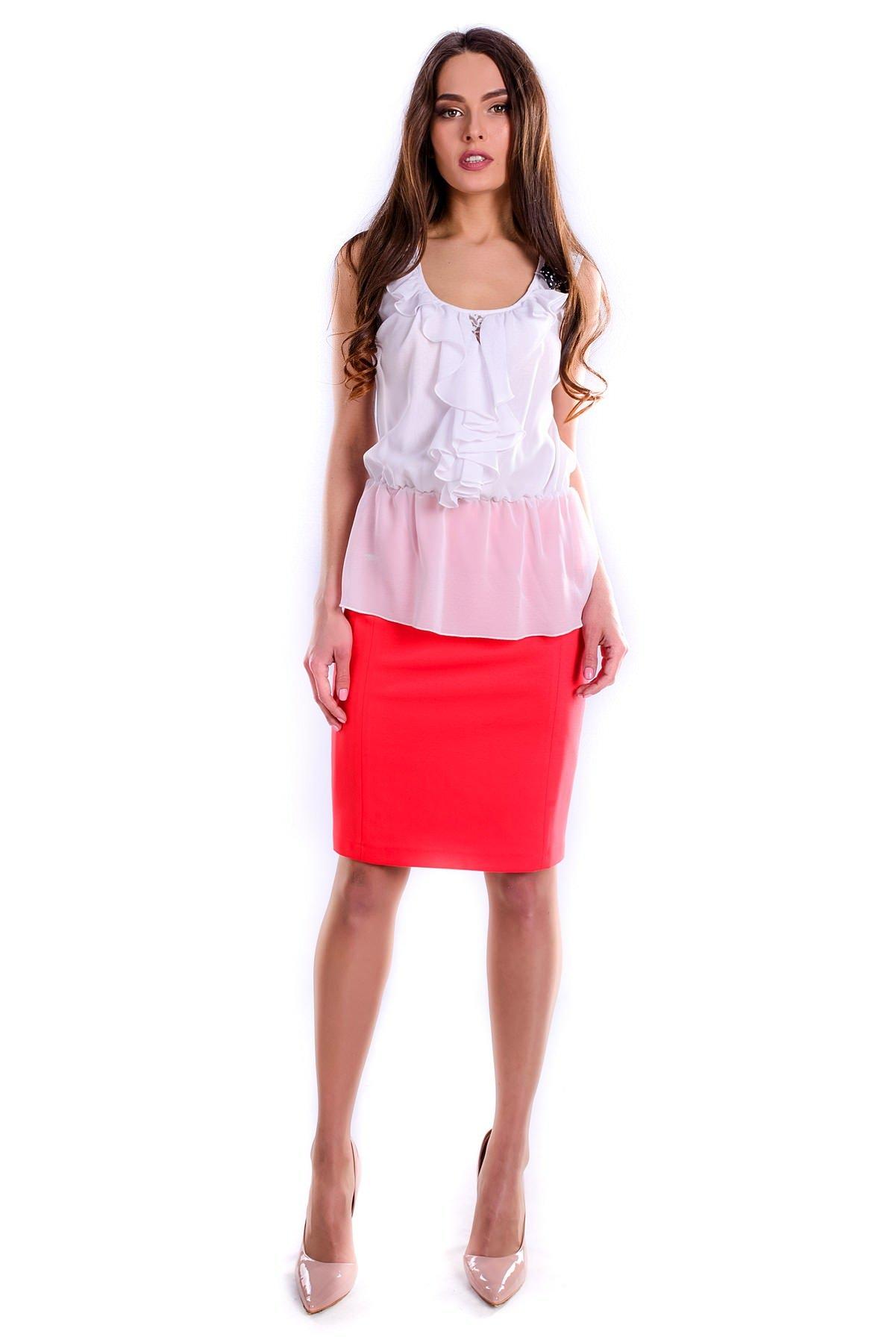 Женские блузки оптом от производителя Блуза Волан рукав