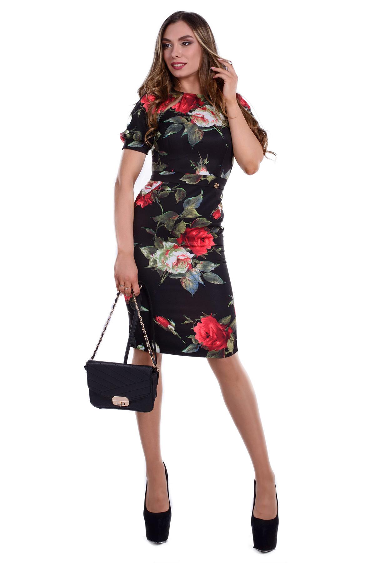 Женская одежда от производителя Modus Платье Найт принт костюмка креп