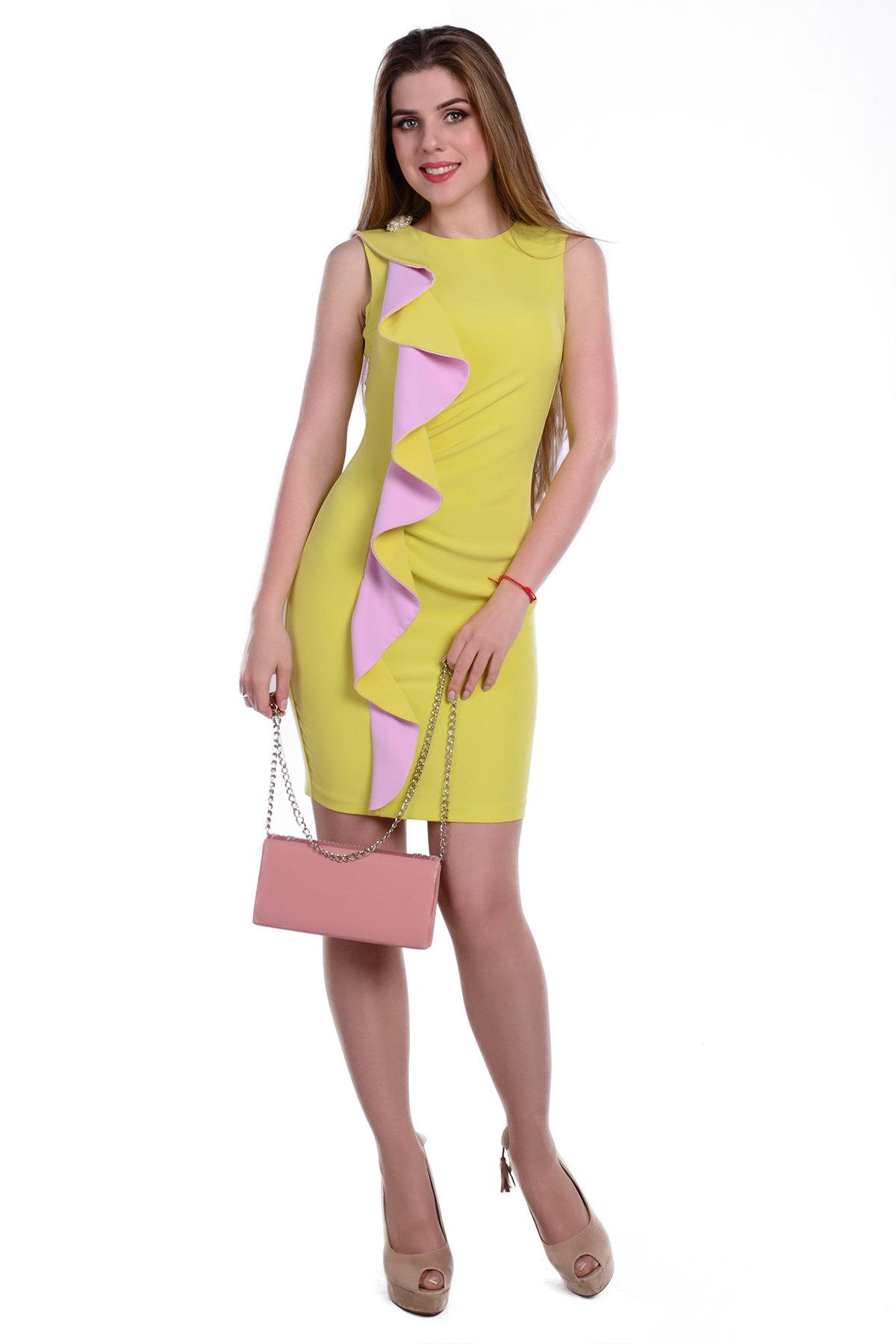 Купить платья женские оптом в Украине Платье Каприче костюмная