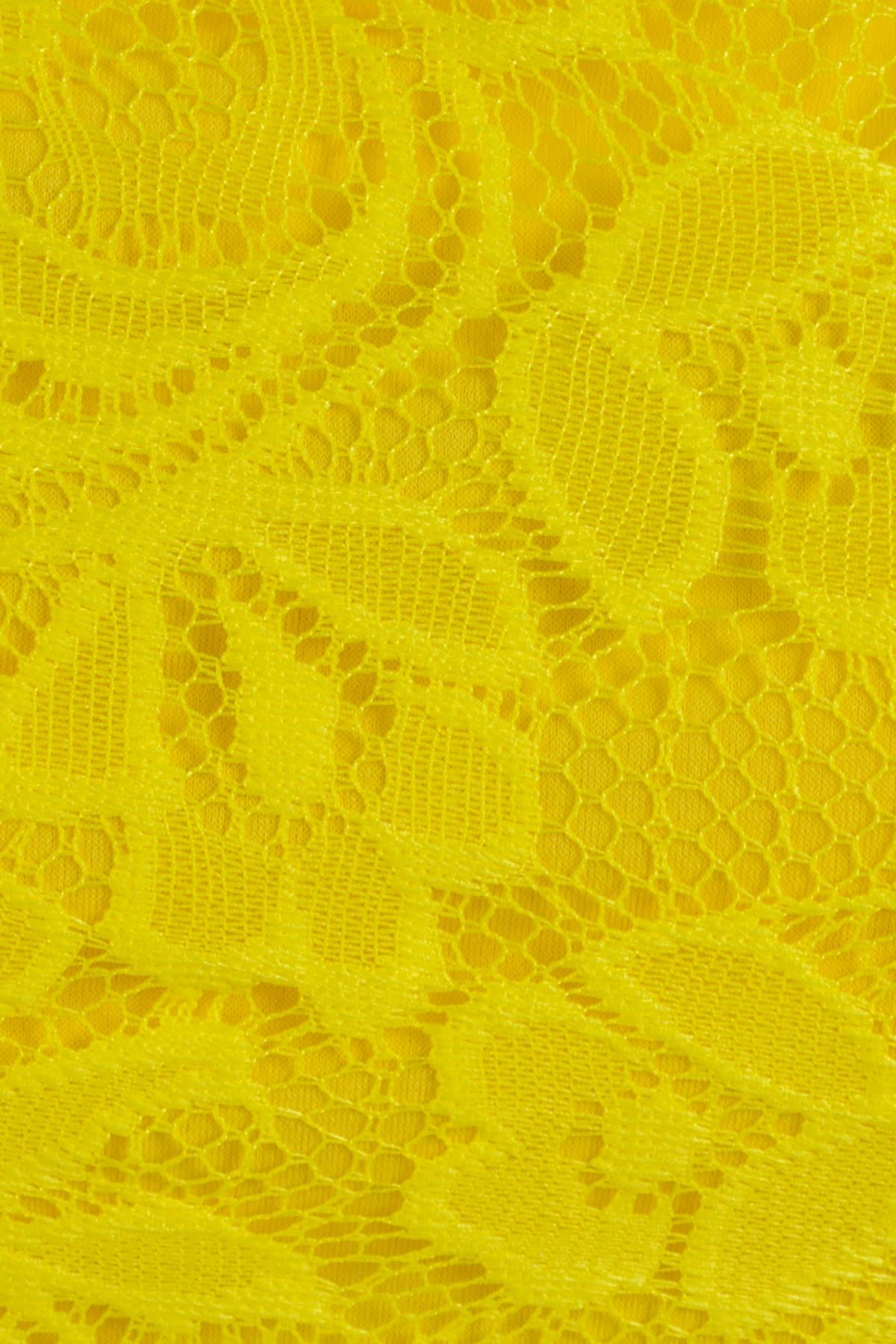 Платье Тирамису АРТ. 3633 Цвет: Желтый вензель 4 - фото 4, интернет магазин tm-modus.ru