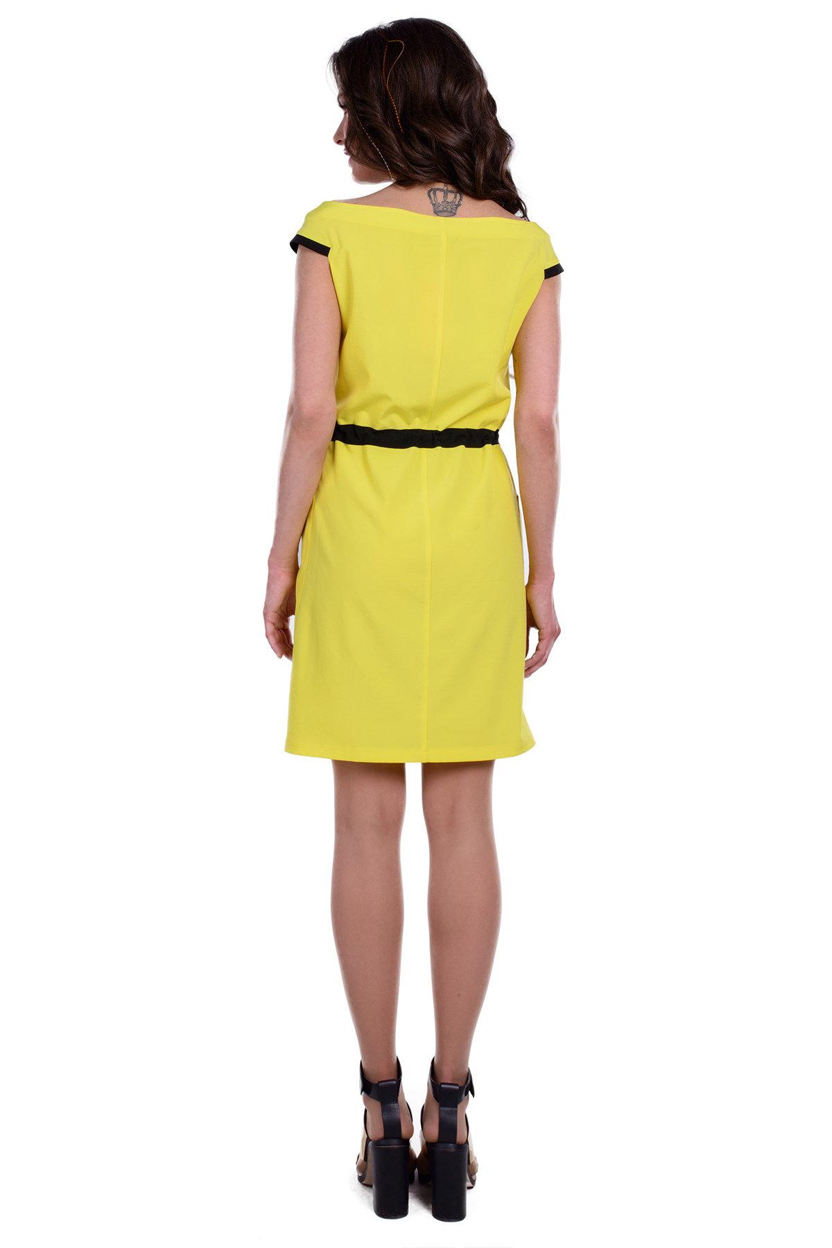Платье Славина вискоза Цвет: Желтый