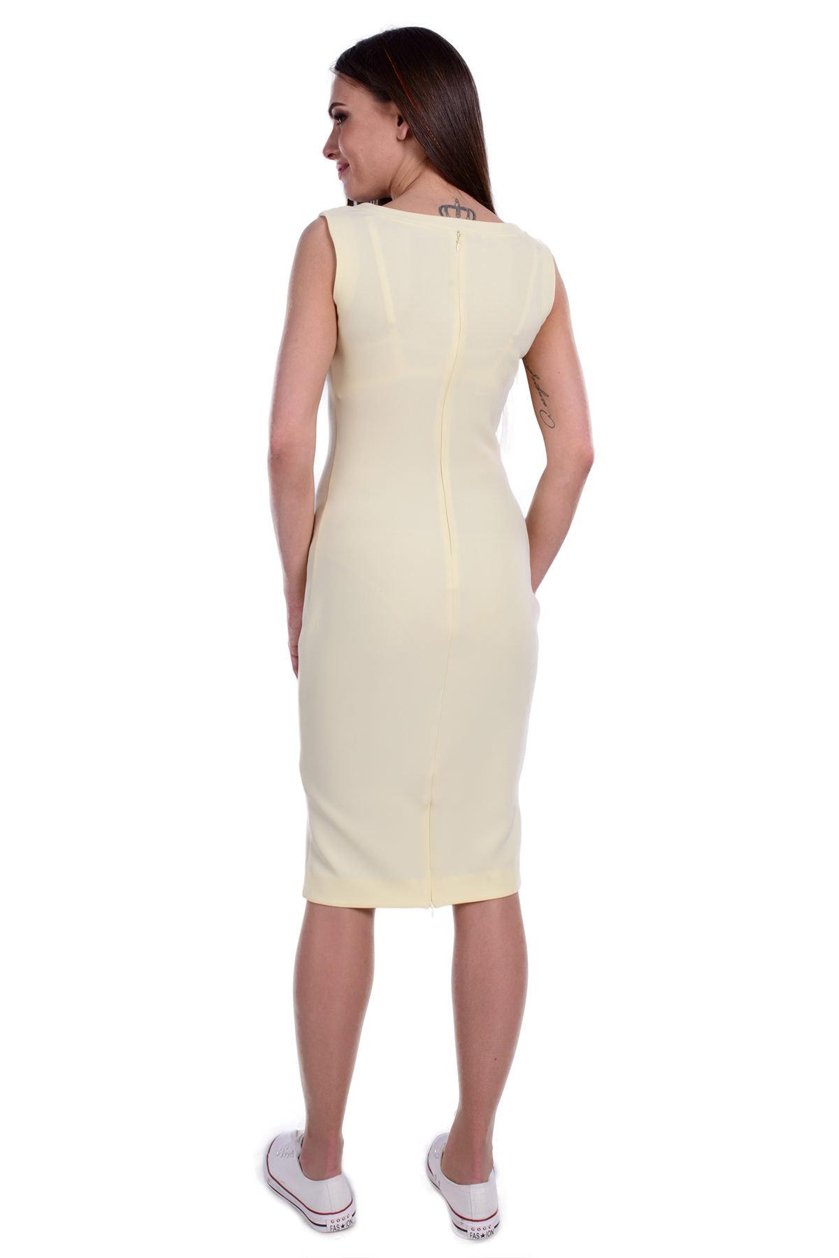 Платье Пальмира 191 Цвет: Светло-желтый
