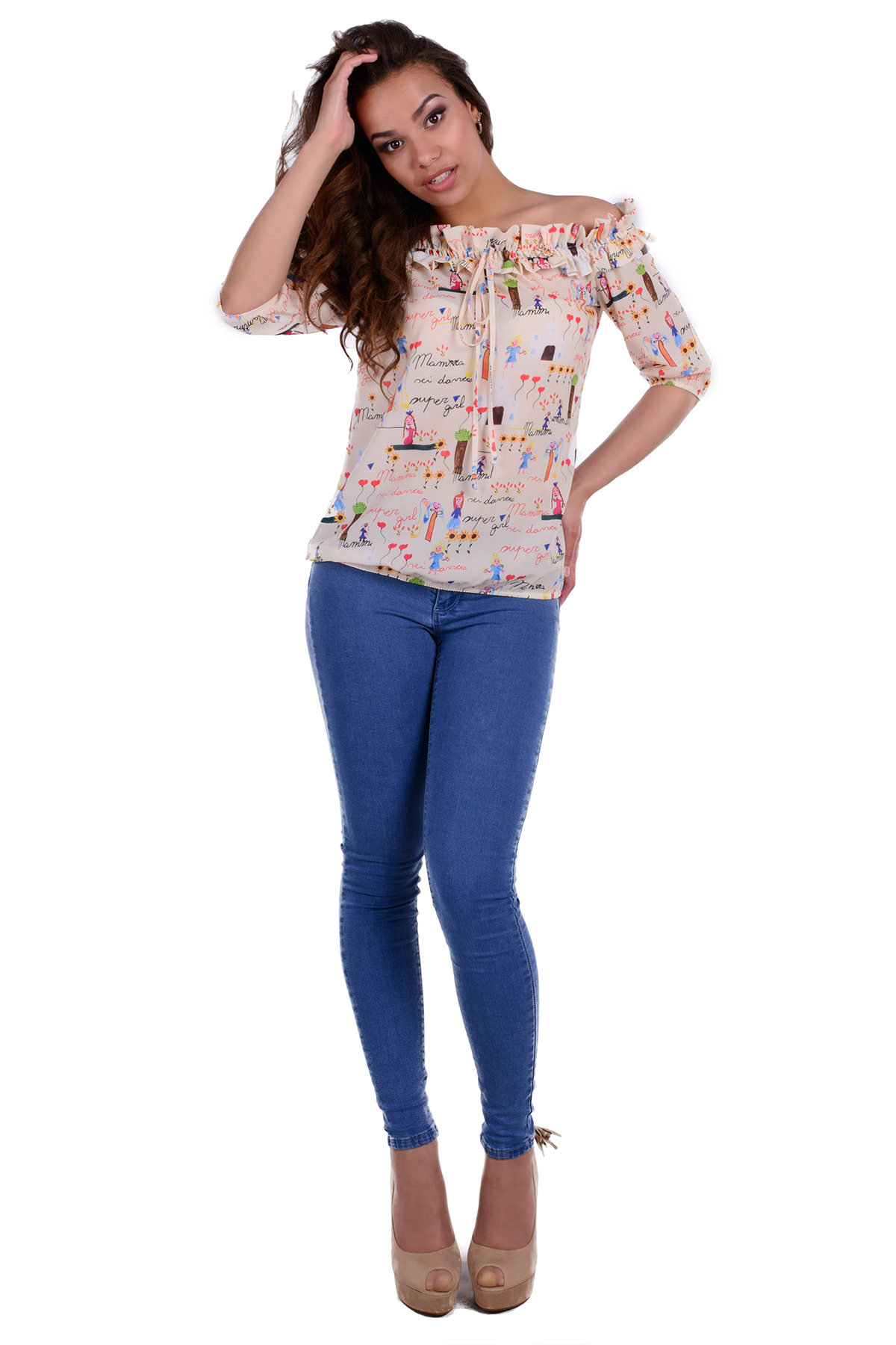 Женская одежда оптом Украина Modus Блуза Деймон 253