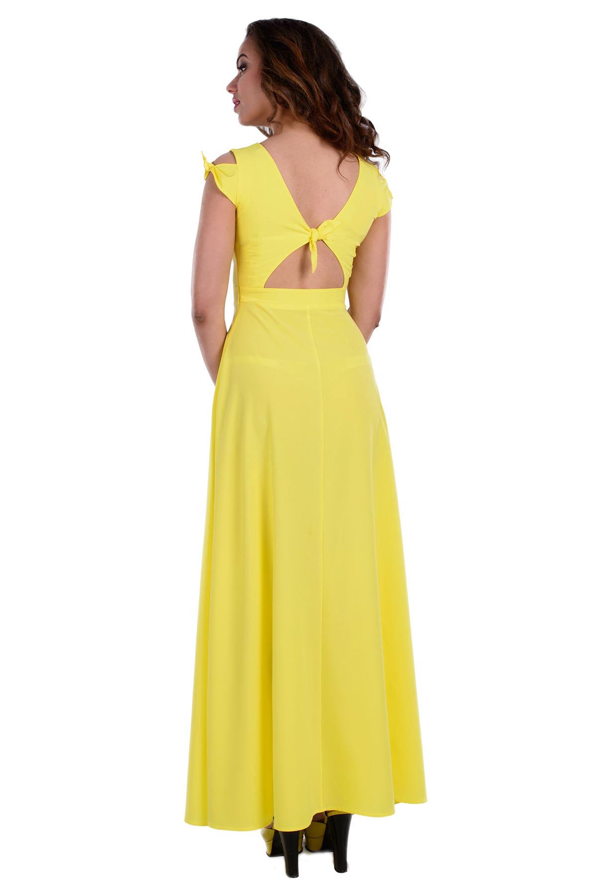 Платье Жадор 333 Цвет: Желтый