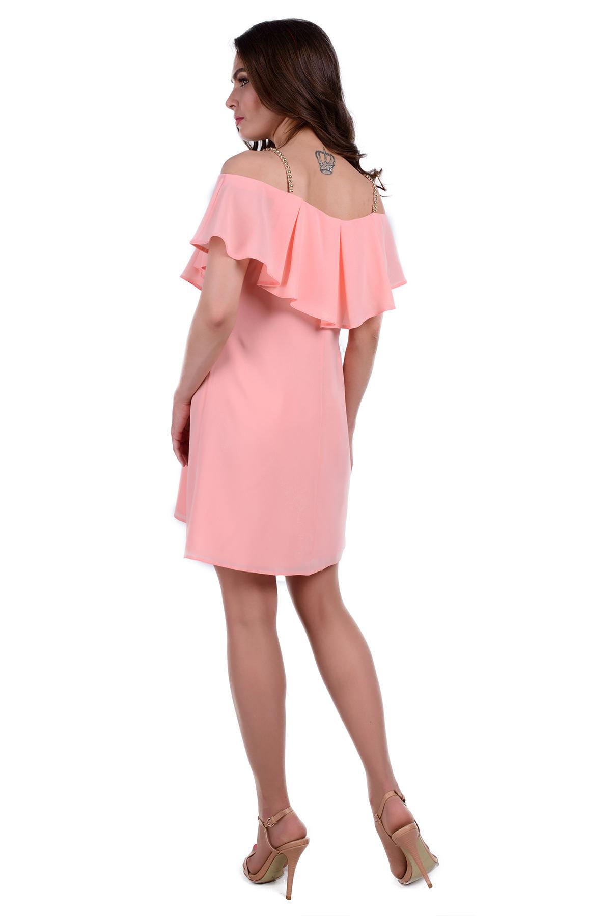 Платье Восток 0339 АРТ. 6631 Цвет: Персик - фото 2, интернет магазин tm-modus.ru