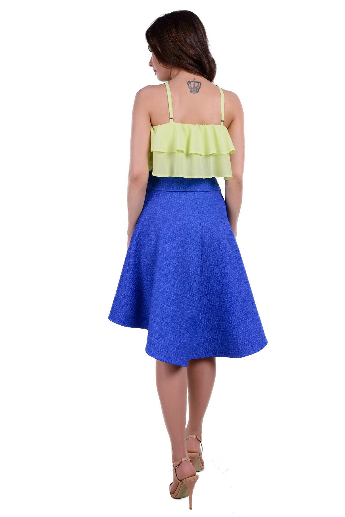 Платье Рио 285 Цвет: Лайм / электрик