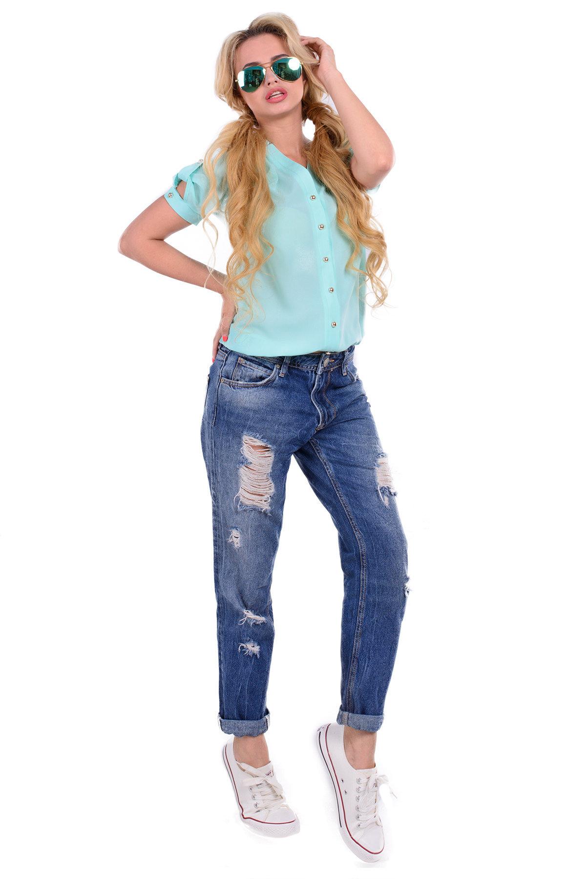 Школьные блузы оптом от производителя Блуза Кумир креп короткий рукав