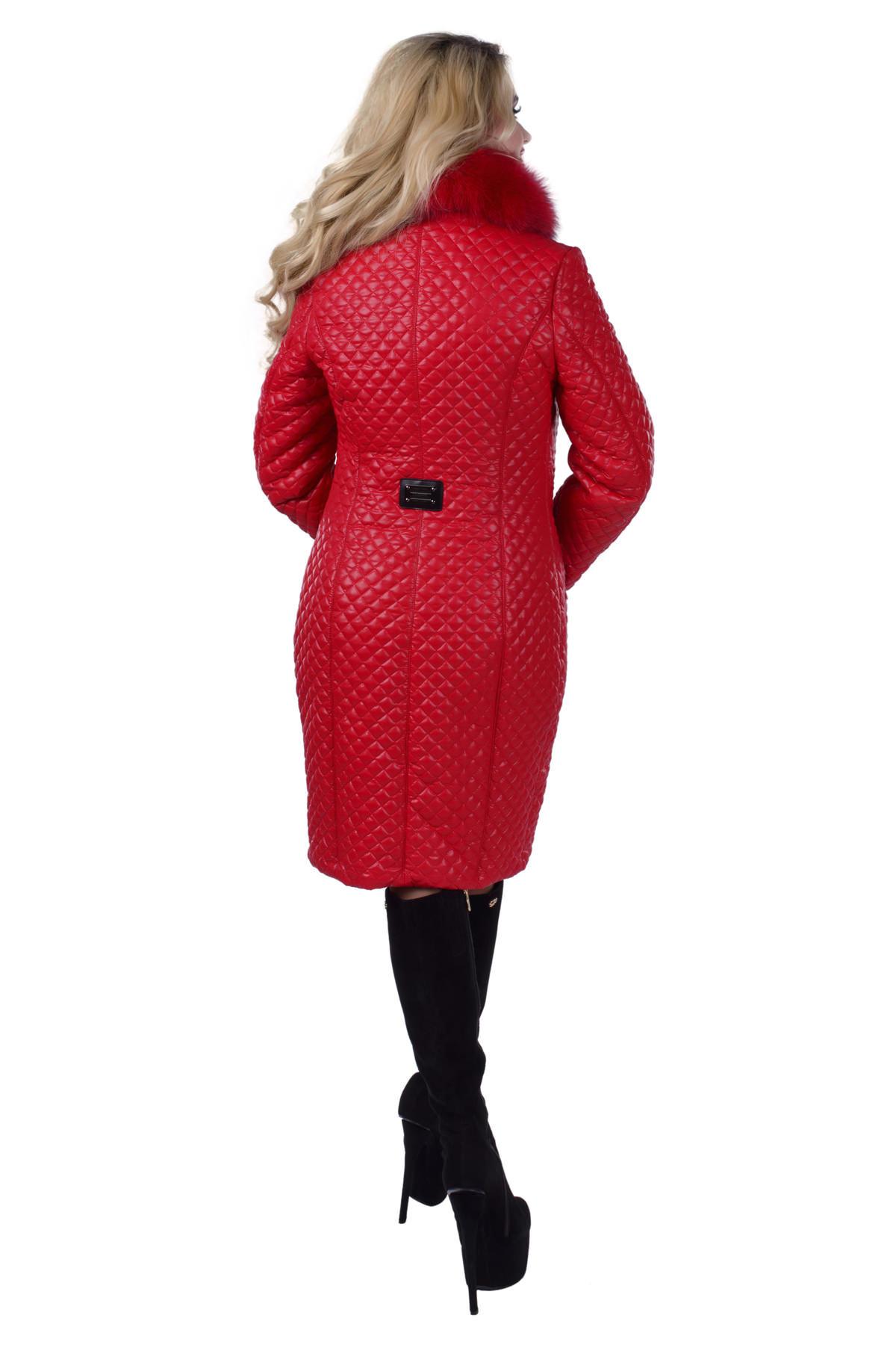 Пальто зима Андрия 0209 Цвет: Красный