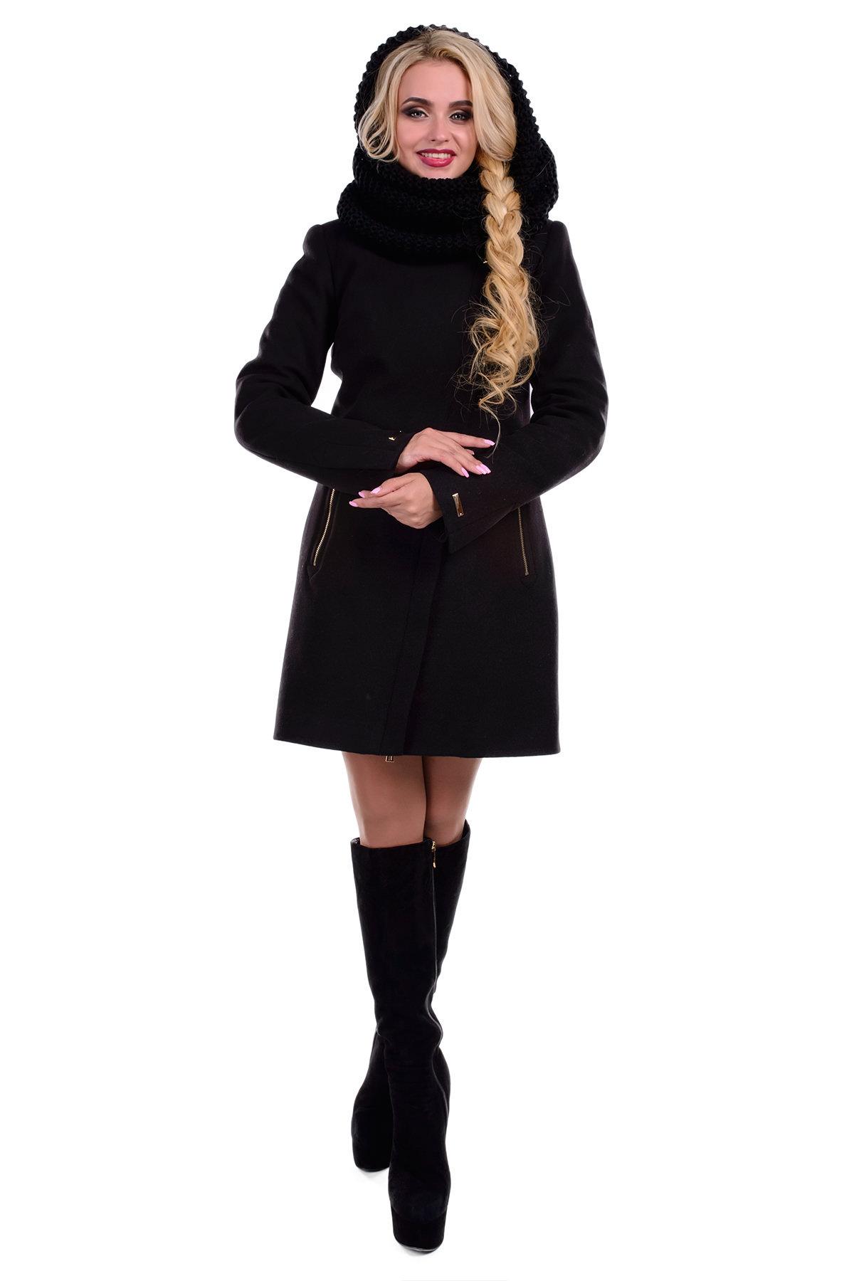 Купить оптом женское пальто недорого Пальто Эльпассо турция элит зима хомут