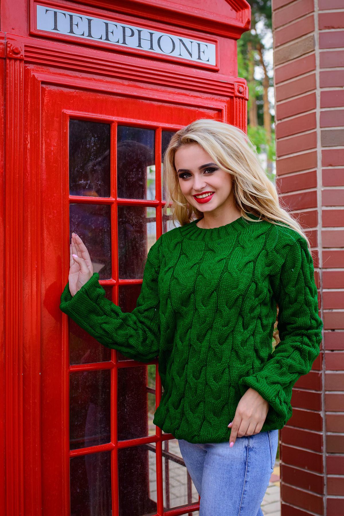 вязаные свитера для женщин Свитер Лало