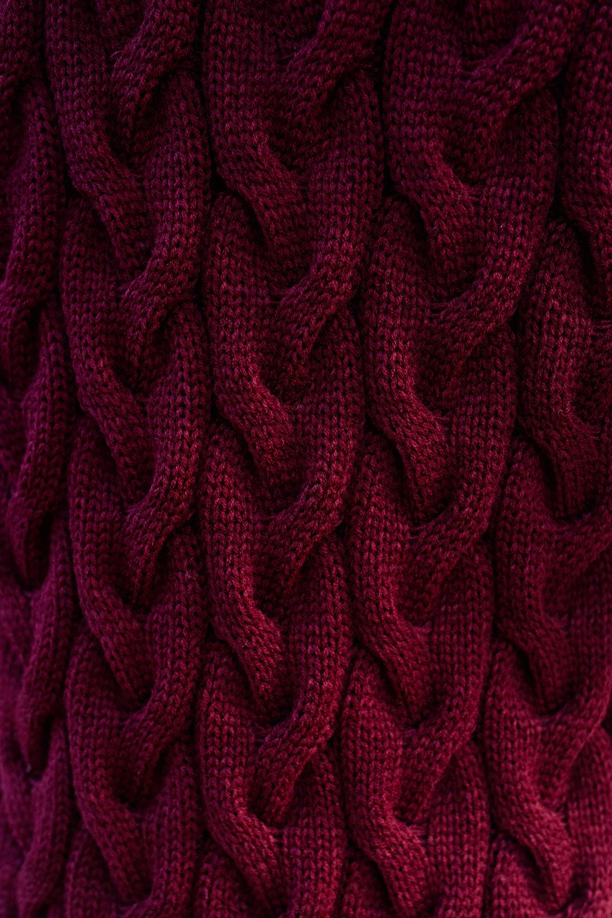 Кардиган длинный Лало Цвет: Бордо 2519