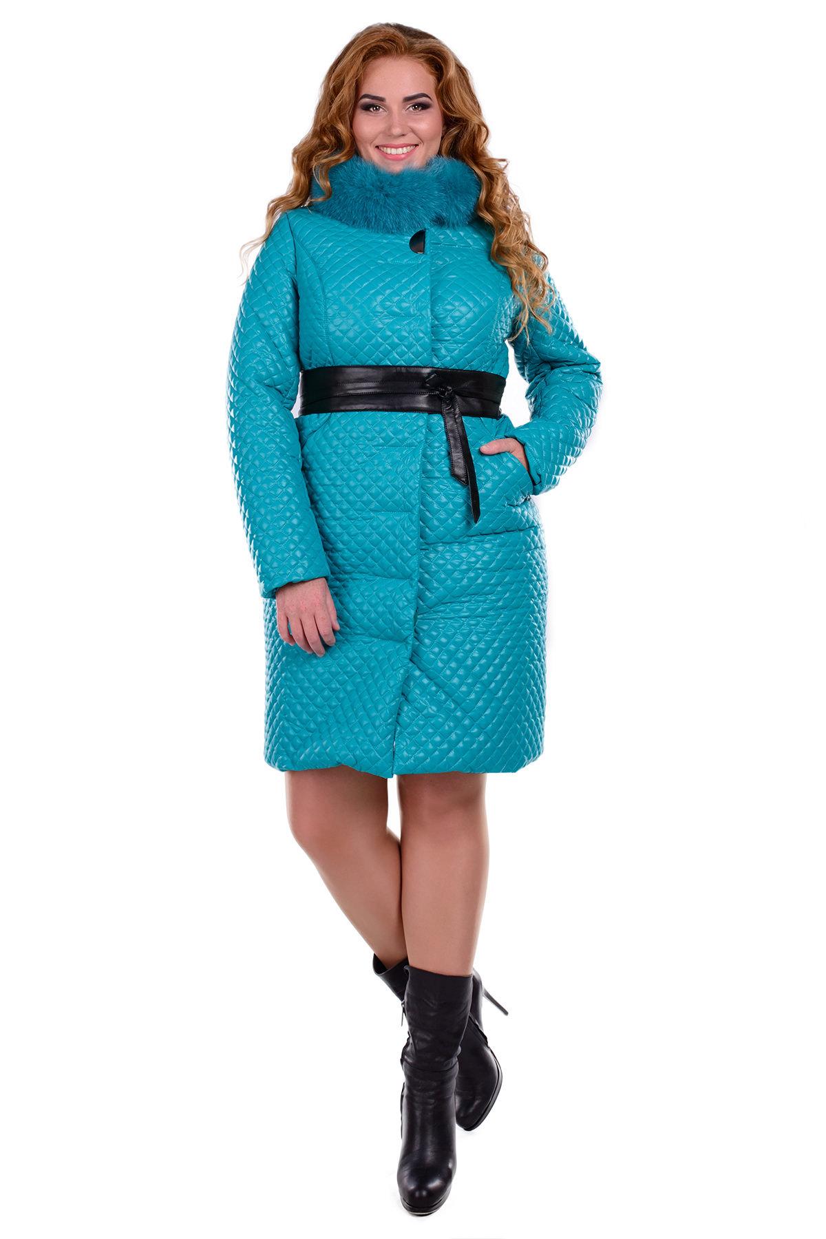 зимнее пальто больших размеров Пальто Donna зима Андрия 0317