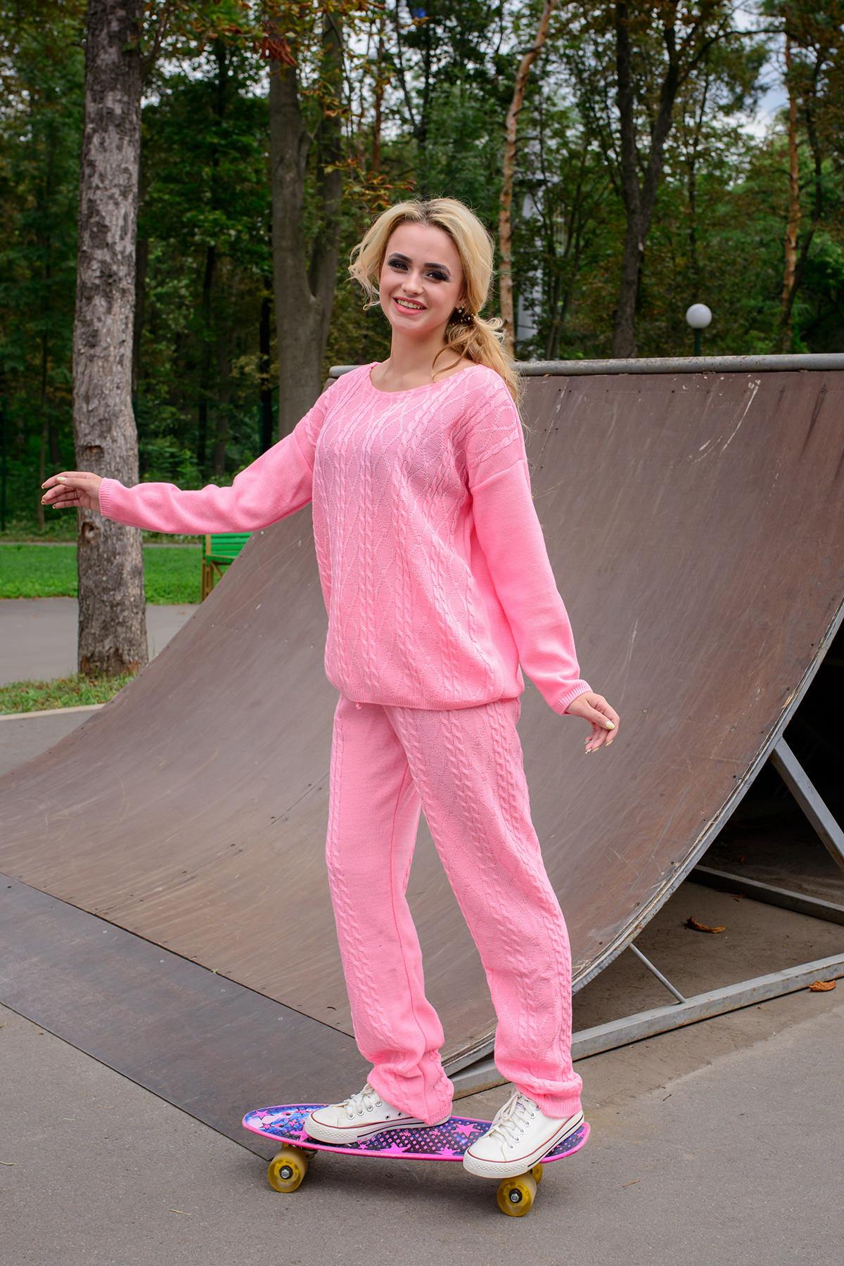 Спортивный костюм Лало Цвет: Розовый 2535