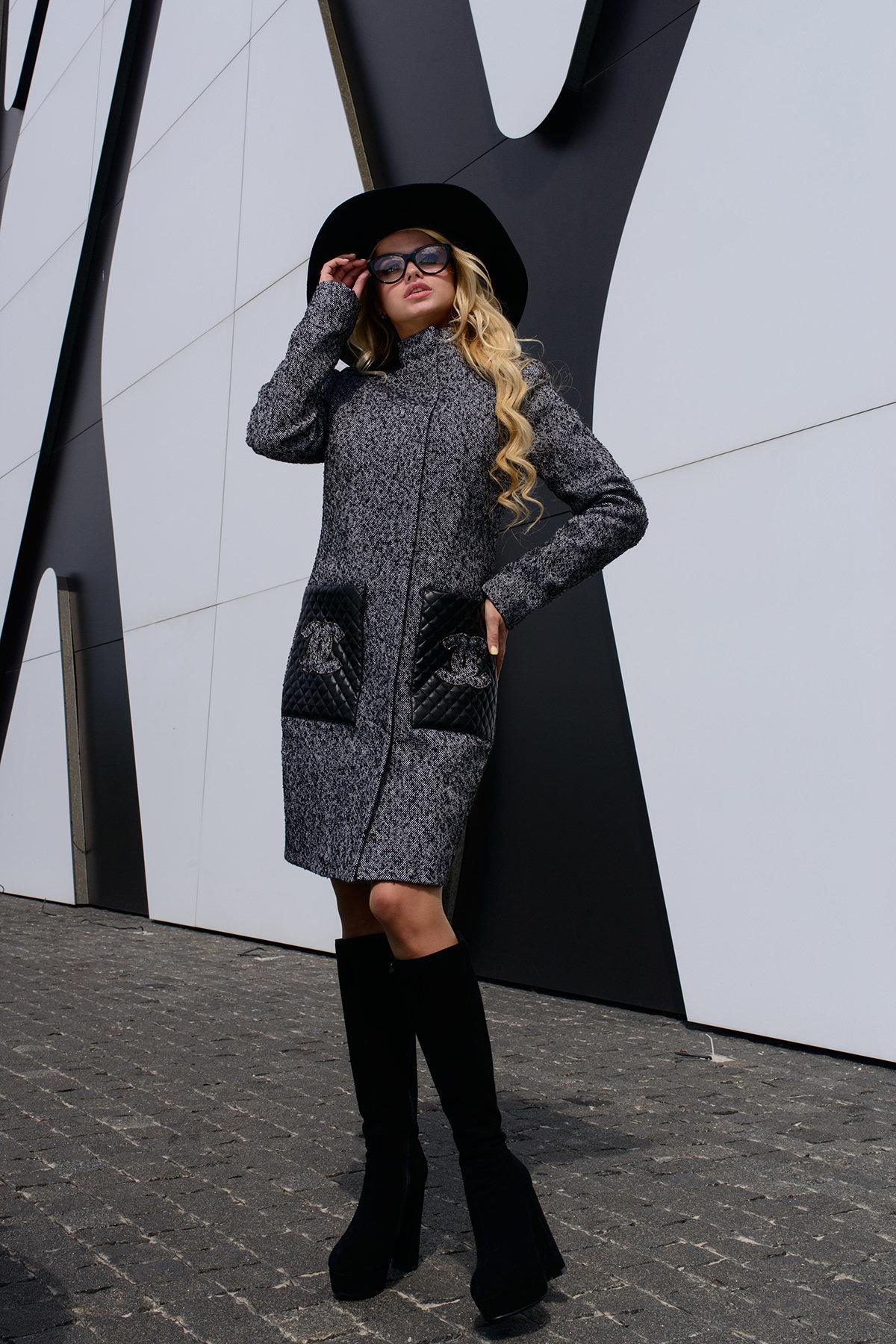Купить кашемировое пальто оптом от производителя Пальто Кутюрье 0497
