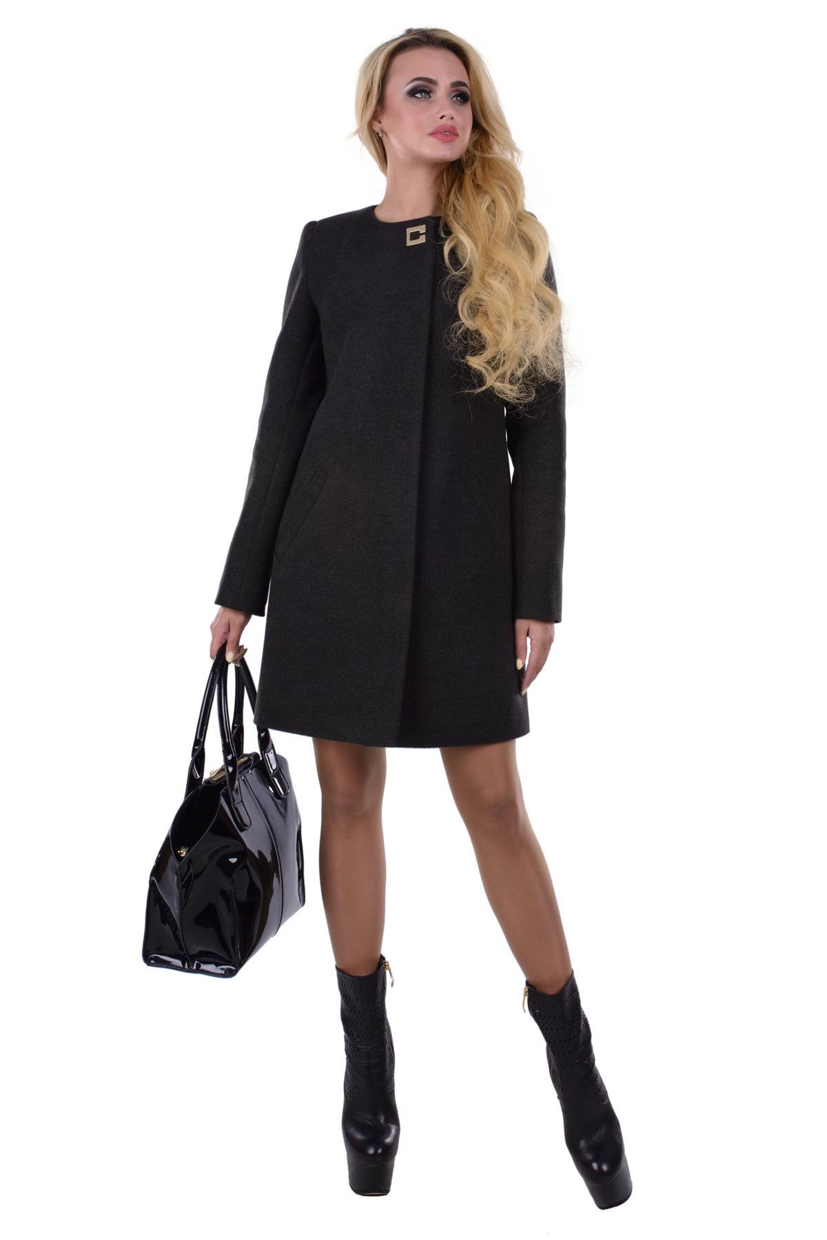 пальто женское демисезонное интернет магазин Пальто Фортуна 4812
