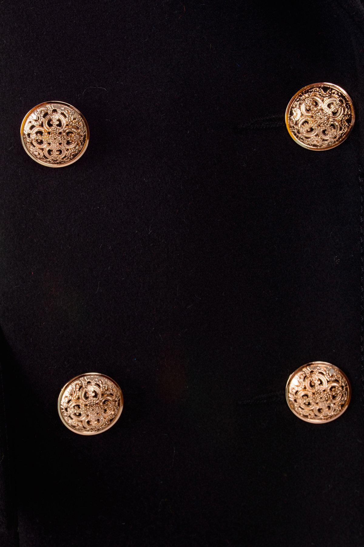 Пальто Балмен 0450 Цвет: Черный