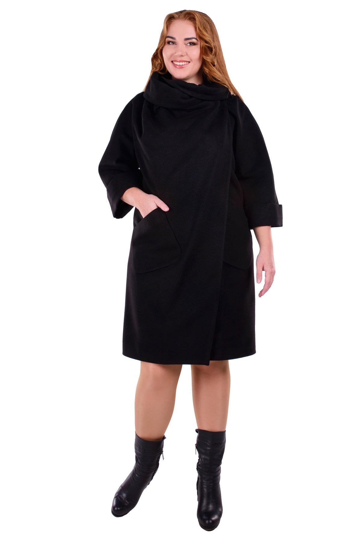 Пальто Эльгранде Donna Цвет: Черный